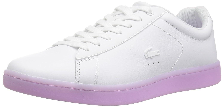 Lacoste Women's Carnaby Evo 118 3 SPW Sneaker B072KJN65Z 10 B(M) US|White/Light Purp
