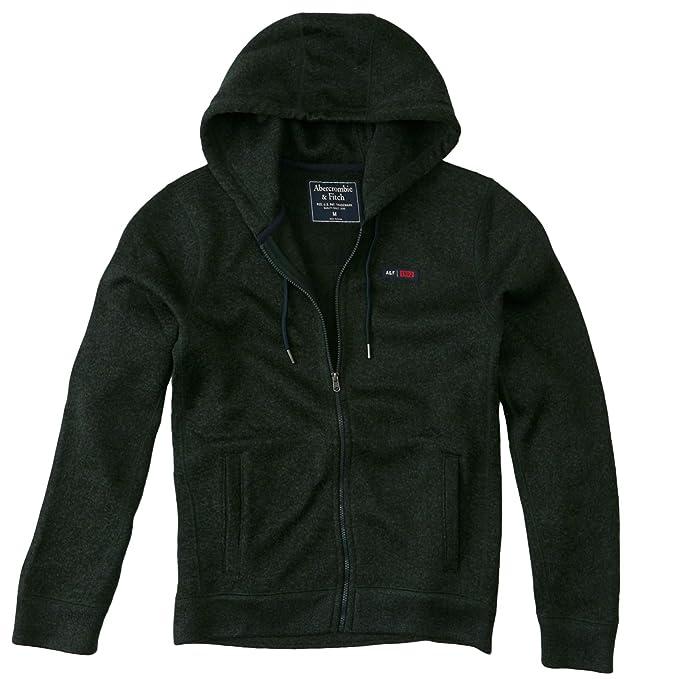 Abercrombie & Fitch - Sudadera con capucha - Manga Larga - para hombre verde 50