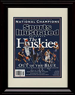 520595a2e94 Framed UCONN Huskies Sports Illustrated Autograph Replica Print - 2011  Champs!