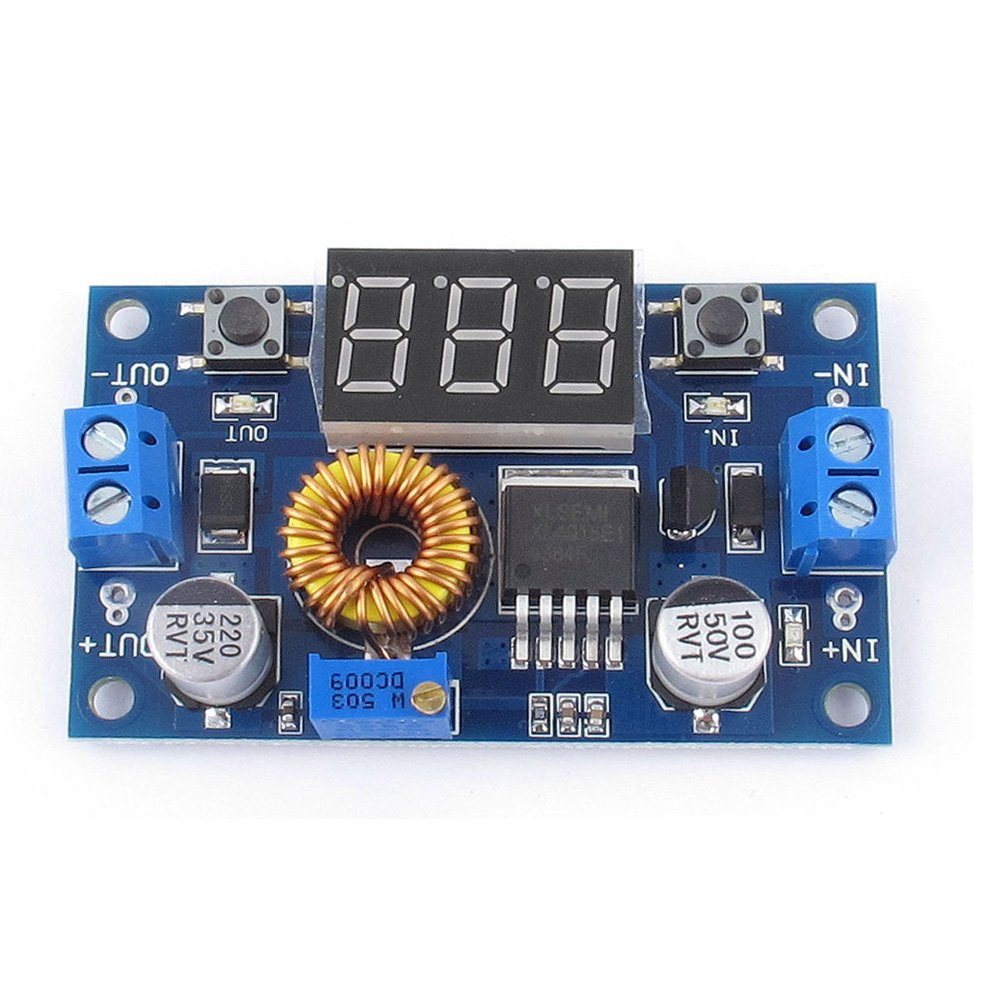 Solu 5a 40v 75w Dc Adjustable Step Down Buck Ece Rockstars Microcontrollerbased Solar Charger Voltage Converter Module Digit Voltme With