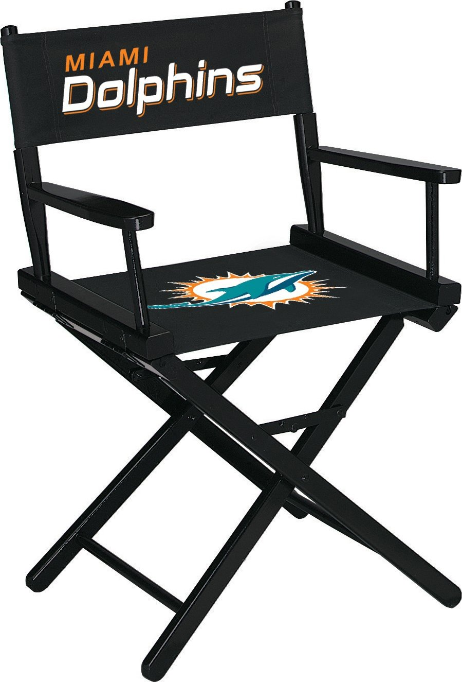 Imperial Officially Licensed NFL Merchandise: Directors Chair (Short, Table Height), Miami Dolphins by Imperial