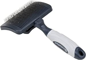 Evolution Self-Cleaning Slicker Brush for Dogs
