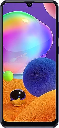 هاتف سامسونج جالكسي A31 بذاكرة سعة 4 جيجا وذاكرة داخلية سعة 128 جيجا - ازرق