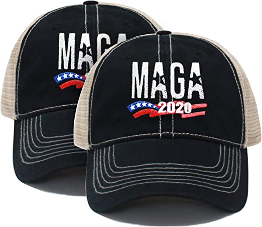*UK Seller* Donald Trump MAKE AMERICA GREAT AGAIN Cap Hat Embroidered RED color