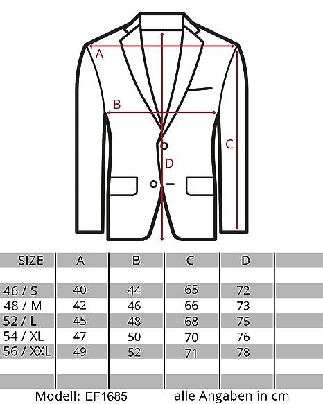 EightyFive Uomo Casual Sport giacca Casual screziata nero grigio EF 1685