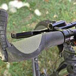 Ergon GP3-L //GP3-S  Grip Fahrrad Lenkergriffe MTB Hybrid 3-Finger Bar Ends