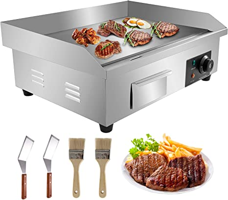 350 LR x 440 FB Genuine Topnotch Stainless Steel BBQ hot Plate grill griddle
