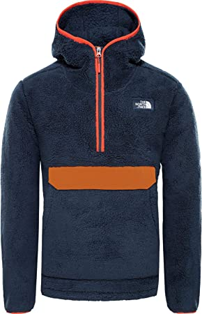 THE NORTH FACE Campshire Pullover Hoodie Herren urban NavyCaramel Cafe 2019 Midlayer