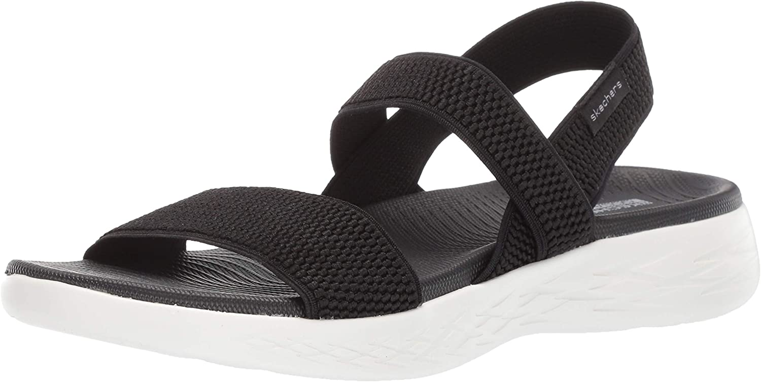 Skechers Women S On The Go 600 Flawless Flat Sandals Amazon Ca Shoes Handbags