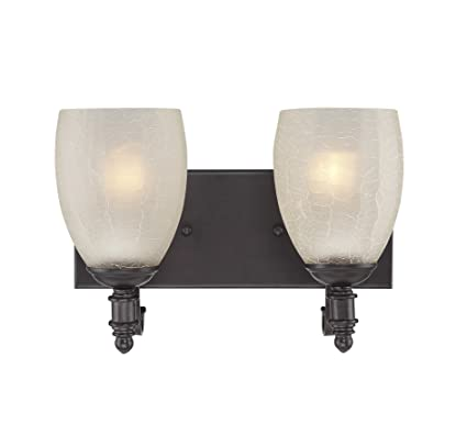 timeless design efc79 9145d Savoy House 8-627-2-13 Duvall 2-Light Vanity Bar in English Bronze