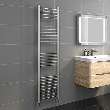 Soak Eleganter Badheizkörper - Handtuchheizkörper für das Badezimmer - 160  x 40 cm, verchromt
