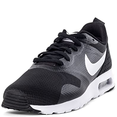 new style 69ce3 13f9e Image Unavailable. Image not available for. Colour  Nike Men s Air Max  Tavas Black and White Running Shoes ...