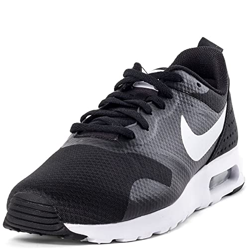 new products 9299a c4777 Nike Men s Air Max Tavas Black and White Running Shoes -7 UK India (41  EU)(8 US)  Buy Online at Low Prices in India - Amazon.in