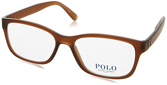 Ralph Lauren Polo 0PH2160, Monturas de Gafas para Mujer, Matte Brown, 54