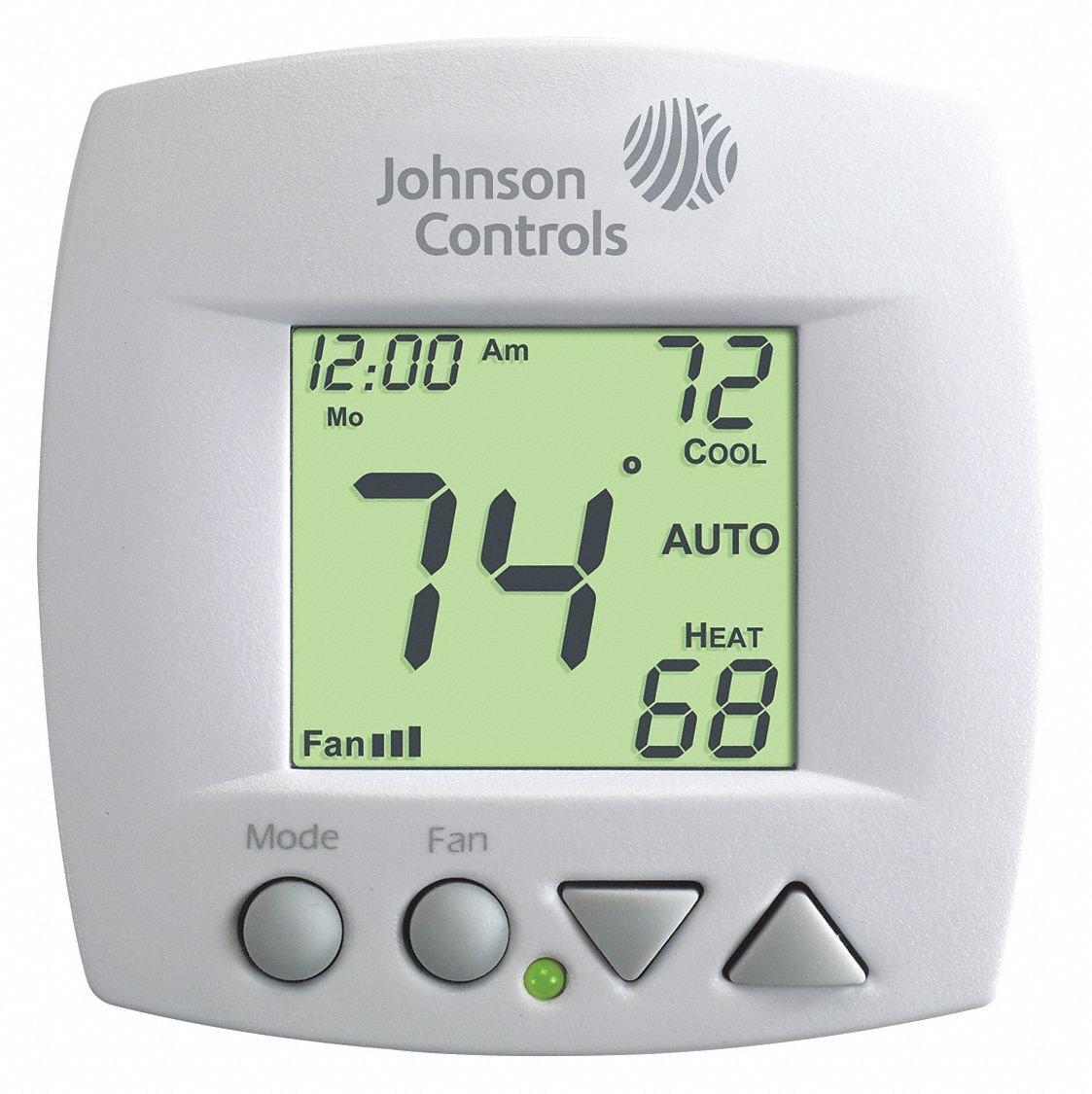 Johnson Controls Fan Coil Thermostat, 4
