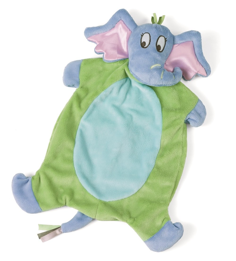 Manhattan Toy Dr. Seuss Horton Baby Tactile Snuggle Blankie 121480