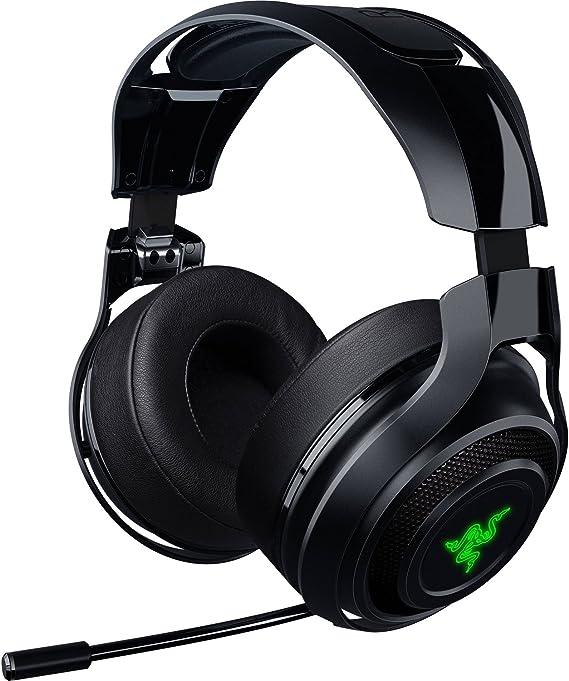 Razer ManOWar: Wireless 7.1 Surround Sound - 2.4 GHz Wireless Technology - Quick Action Controls - Unidirectional Retractable Mic - Gaming Headset ...