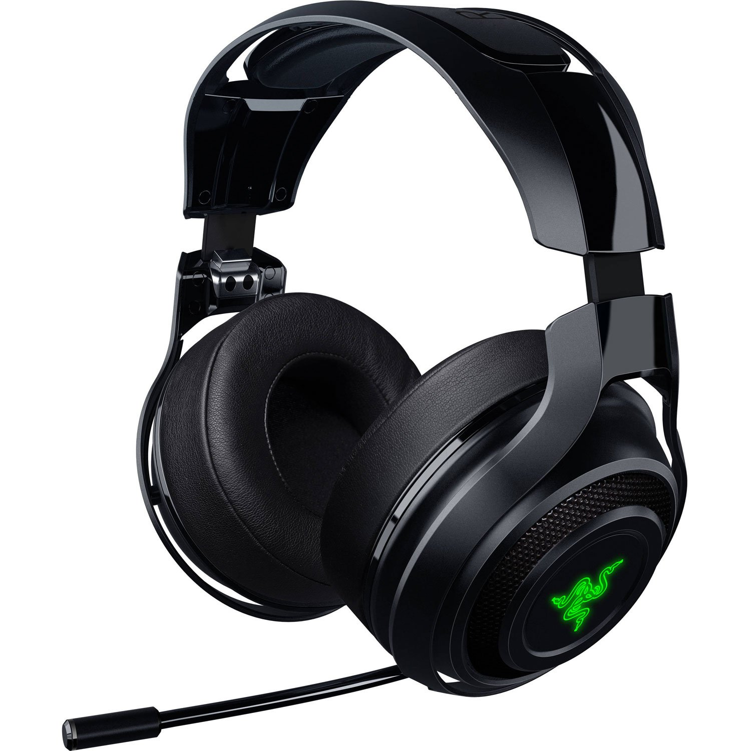 Razer ManO'War Wireless 7.1 Surround Sound Gaming Headset Compatible with PC, Mac, Steam Link and works with Playstation 4 by Razer