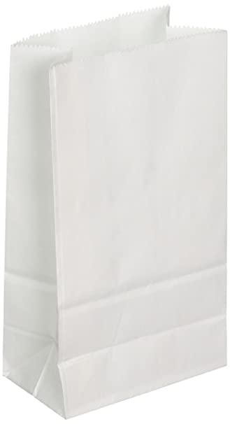 Amazon.Com: Big Value White Paper Crafting Bags 40/Pk: Arts