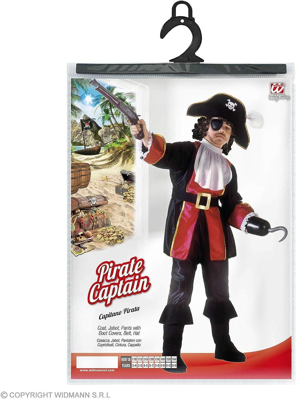 WIDMANN WDM38836 ? Disfraz para niños de pirata, Capitán Garfio ...
