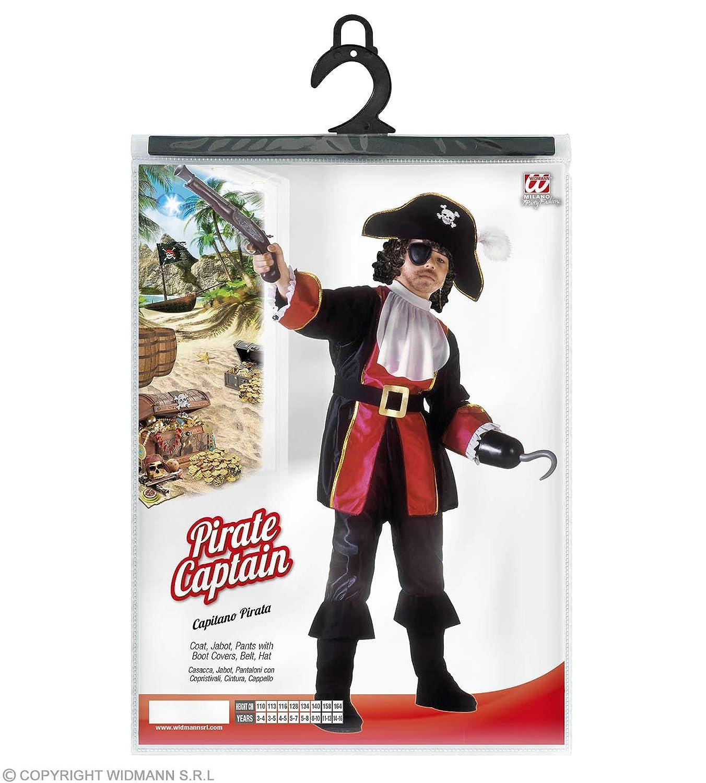 WIDMANN WDM38836 ? Disfraz para niños de pirata, Capitán ...
