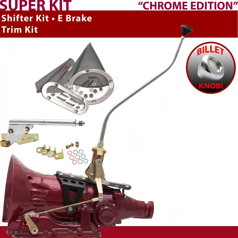 American Shifter 529134 Shifter 45RFE 23 Swan E Brake Trim Kit for F555E