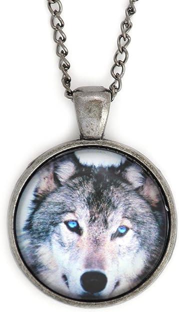 Magic Metal Blue Eyed Black Cat Necklace Silver Tone NV45 Pet Kitty Art Print Pendant Fashion Jewelry