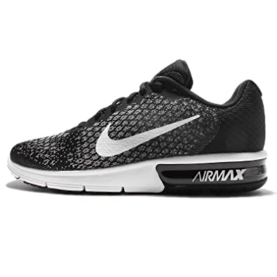 promo code 94c42 aea9d Nike AIR Max Sequent 2, Chaussures de Trail Homme, Multicolore (Black White
