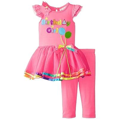 Rare Editions Baby-Girls Fuchsia Birthday Girl Tutu Set