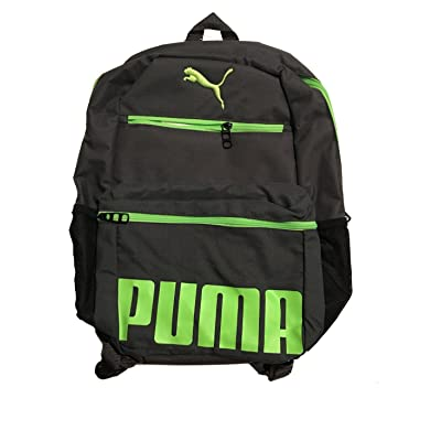lovely Puma Boys Meridian Kids Backpack, Black/grey