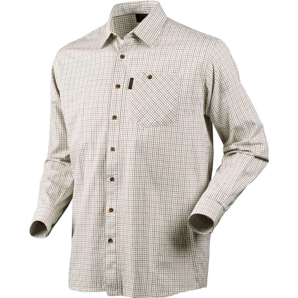 Seeland Preston Shirt Egret Check