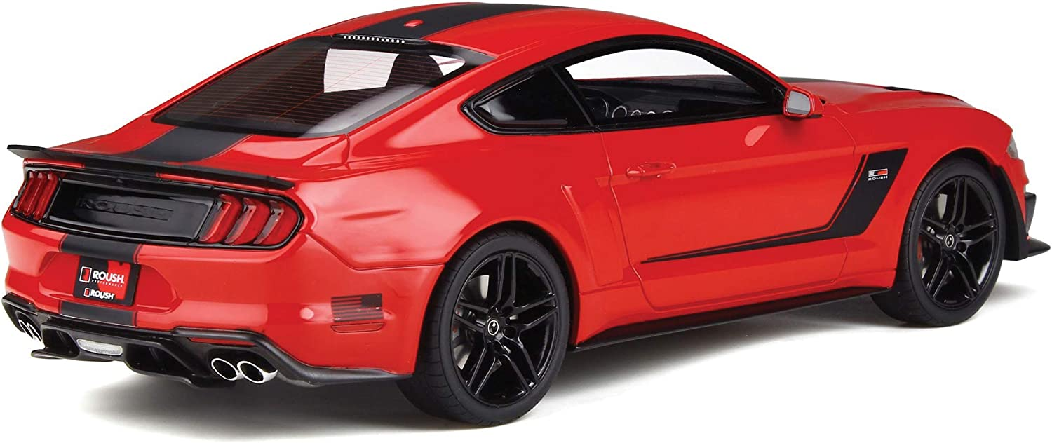 GT Spirit 1:18 Ford Mustang Roush Stage 3 2019 Red//Black GT260