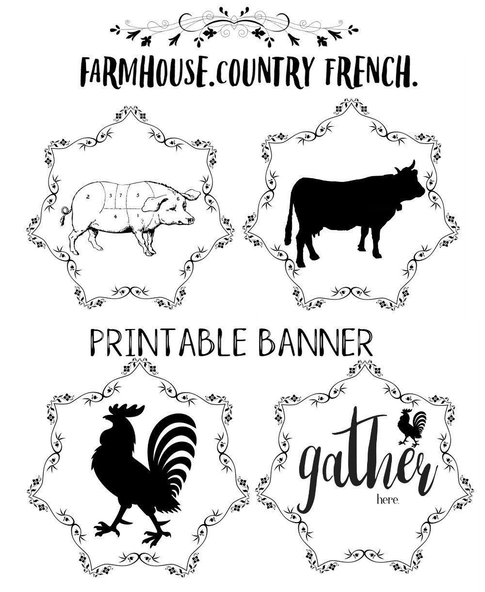 amazon com country rustic rooster gather here farmhouse mylar