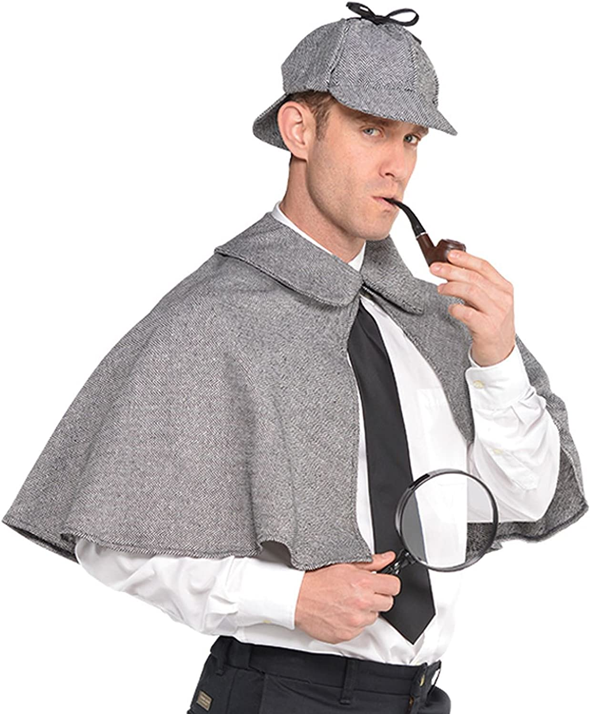 English Detective//Sherlock Holmes Adult Costume
