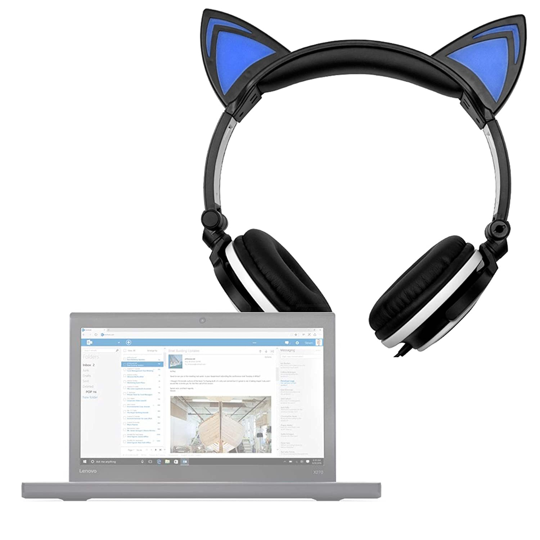 DURAGADGET Auriculares Plegables estéreo con diseño de ...