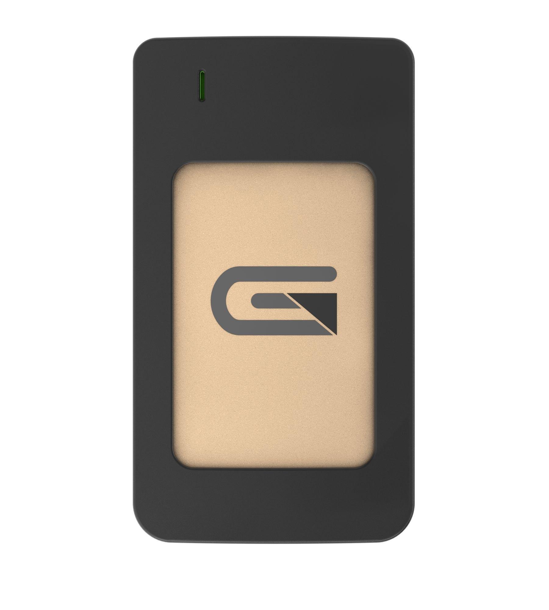 Glyph Atom RAID SSD 4TB Gold (External USB-C, USB 3.0, Thunderbolt 3) AR4000GLD
