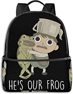 Over The Garden Wall Funny Laptop Backpack Fashion Theme School Backpack