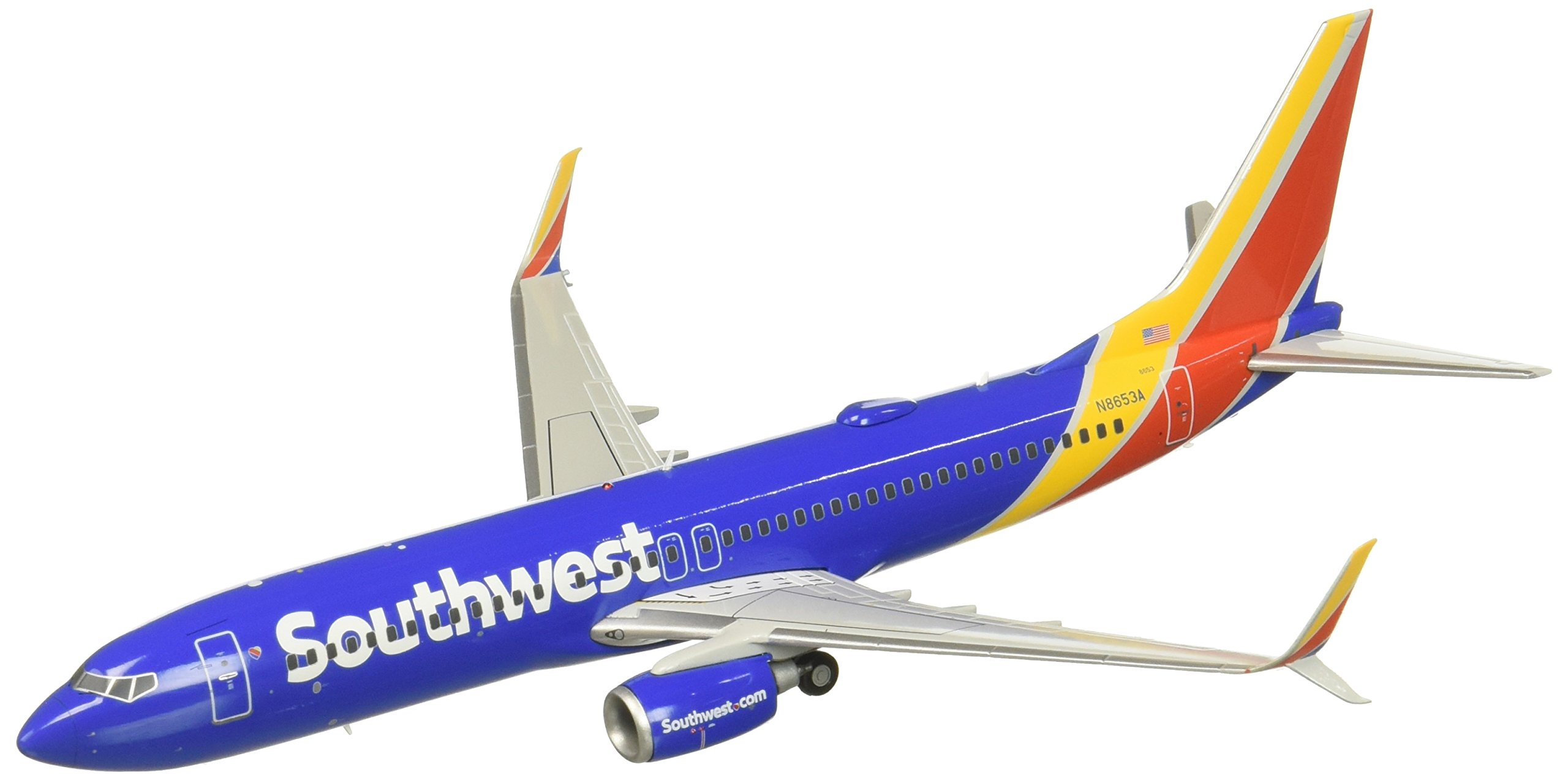 Gemini200 Southwest Airlines B737-800 N8653A 1:200 Scale Model Airplane Die Cast Aircraft