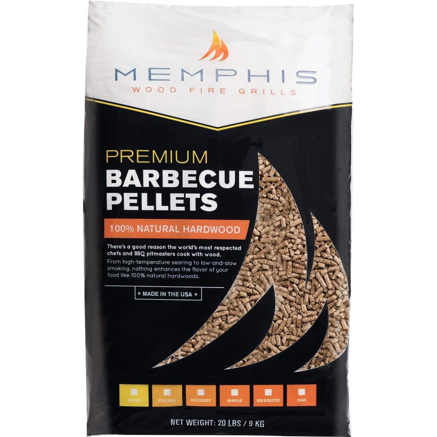 Memphis Grills All-Natural Wood Smoker Pellets (MGMESQUITE), Mesquite by Memphis Grills