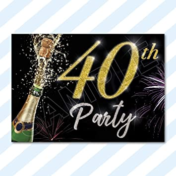 A6 Cards Birthday Party Invitations Invites Anniversary