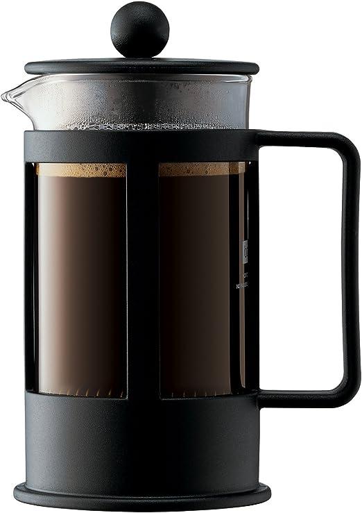 Bodum Kenya Cafetera émbolo, Negro, Transparente, Centimeters ...