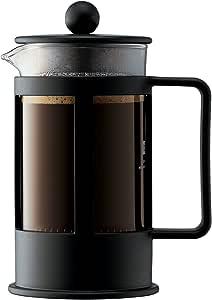 Bodum Coffee Maker Kenya French Press, Black, 1783-01