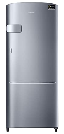 Samsung 212 L 3 Star Direct Cool Single Door Refrigerator(RR22N3Y2ZS8/HL, RR22M2Y2ZS8/NL, Elegant Inox, Inverter Compressor)