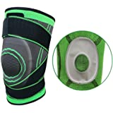 HipStone Knee Brace, Compression Sleeve Fit Support -for Joint Pain and Arthritis Relief, Improved Circulation Compression -Single Wrap