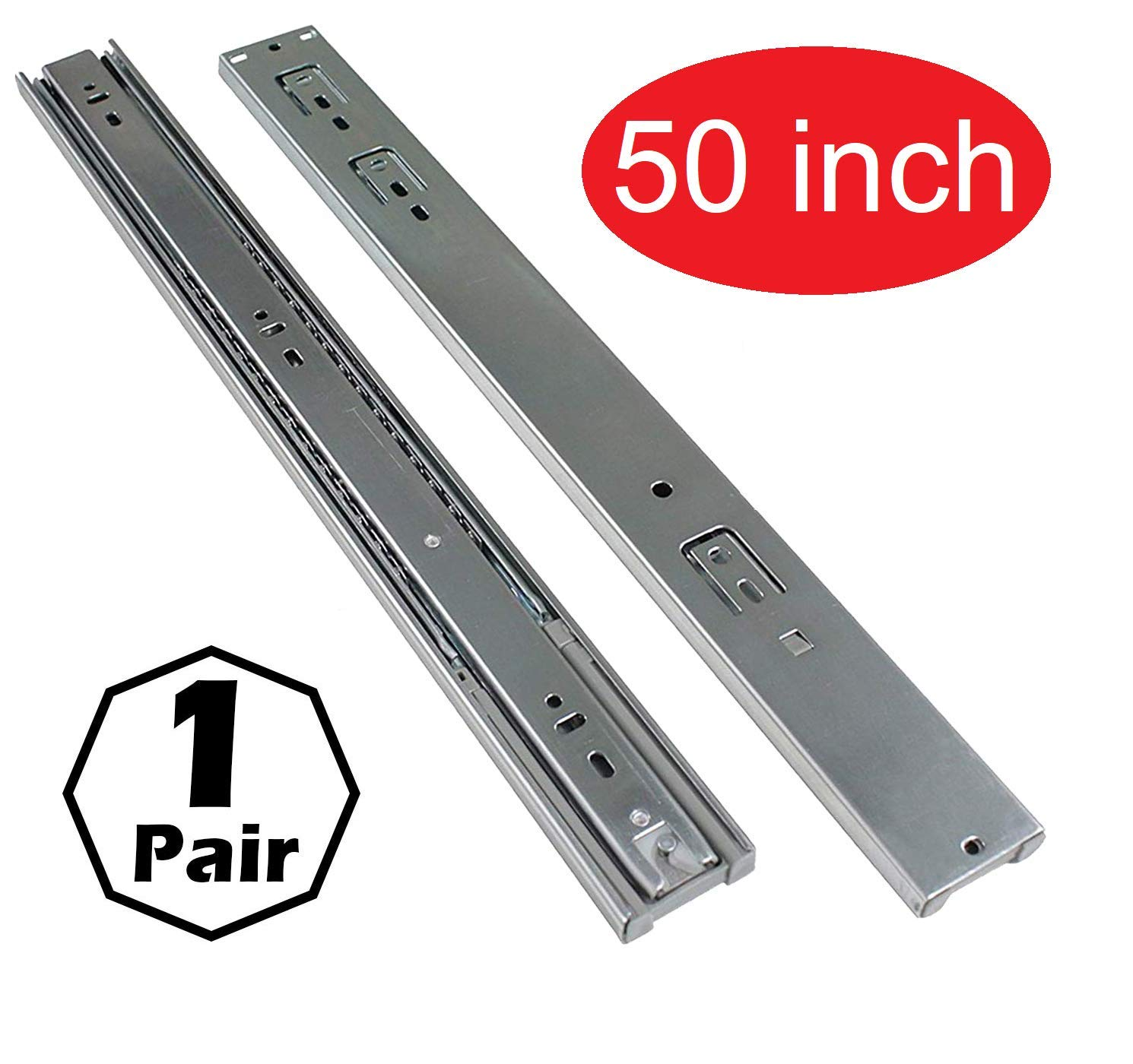 """Firgelli Automations 50"""" extension Guide Rail 400lbs Capacity"""