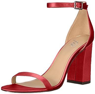 f6c9c35215011 Amazon Brand - The Fix Women's Gracie Block Heel Strappy Sandal Heeled
