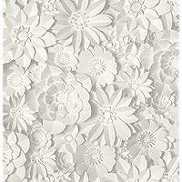 Fine Décor - Figura Decorativa, diseño Floral, Color