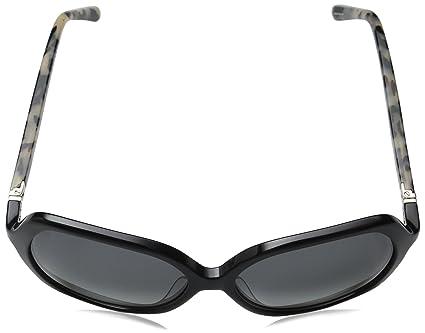297a7ec3e1129 Amazon.com  Kate Spade Women s Jonell Square Sunglasses Black Havana Gray  Gradient 58 mm  Clothing