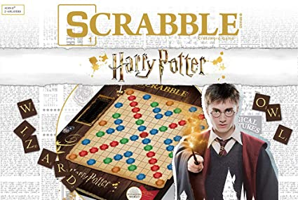 Amazon.com: Scrabble World of Harry Potter Juego de mesa ...