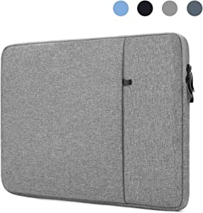ProElife 12-Inch Laptop Sleeve Case Cover Canvas Tablet Protective Bag for Microsoft Surface Pro 4/Pro 5/Pro 6/Pro 7 12.3-Inch (2017 2018 2019) & MacBook Air 11.6-Inch MacBook 12-Inch (Gray)
